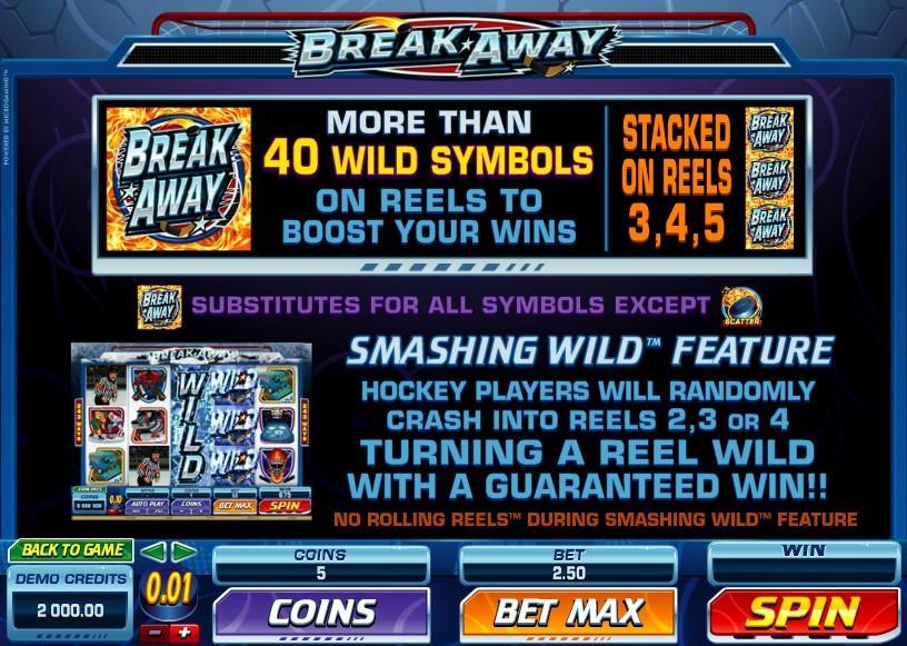 Break Away Casino Review